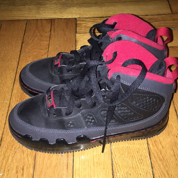 size 40 d93bb d4bcf Jordan retro 9 black and red